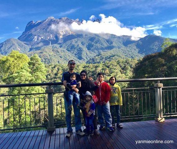 Tinggi-tinggi Gunung Kinabalu, Tinggi Lagi Sayang Sama Kamu!
