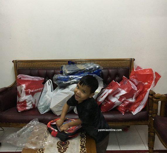 Shopping Barang Keperluan Sekolah Anak