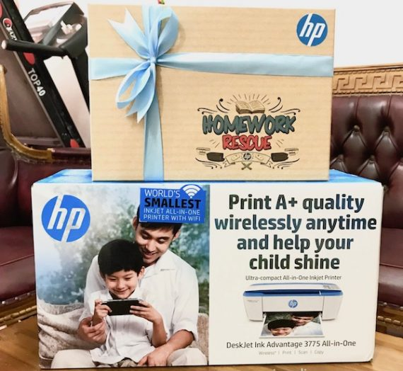 Homework Rescue Lebih Mudah Dengan HP Deskjet Advantage 3775 All-In-One Printer