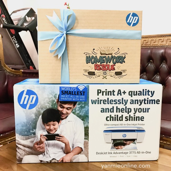Homework Rescue Lebih Mudah Dengan HP Deskjet Advantage 3775 All-In-One Printer
