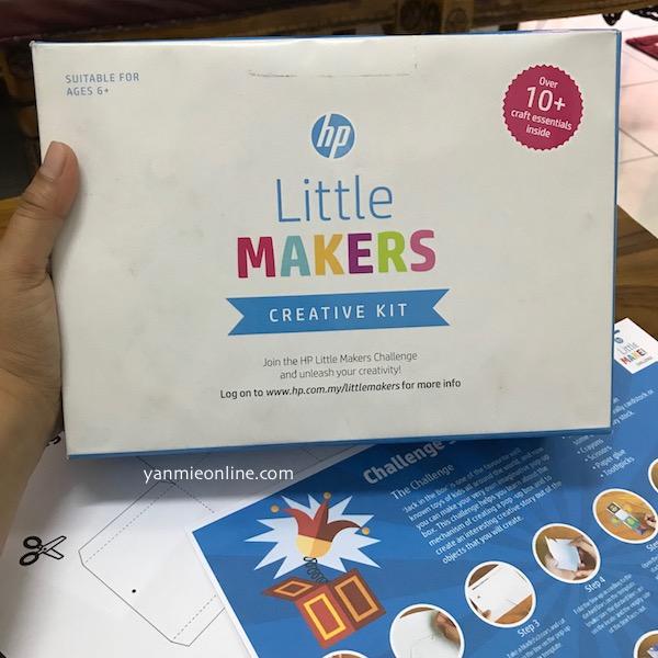 Aktiviti Cuti Sekolah Bersama HP Little Makers Challenges