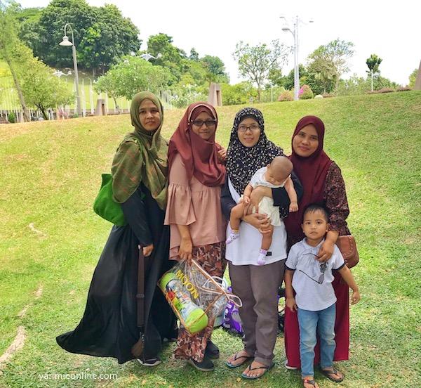 Riadah Di Taman Seri Empangan Putrajaya